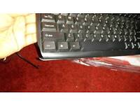 Fully working cracked keyboard