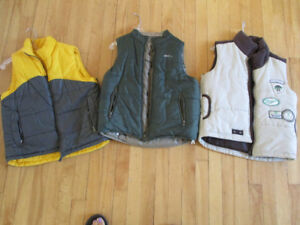 Youth outer wear vests