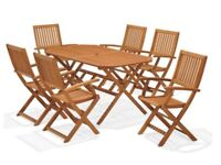 Robert Dyas Country Hardwood set of 6 chairs (CHAIRS ONLY)