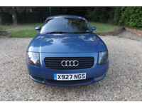 """2000 X Audi TT Coupe 1.8 T Quattro 225 BHP 6 SPEED COUPE FSH HEATED LEATHER 18"""""""