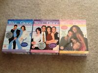 Will and Grace TV box sets series 1-3