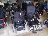 Quickie Rumba electric folding wheelchair