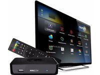 BEST - MAG 254 - HD SET TOP BOX - 254+12 MTHS WORLD LIVE TV/MOVIES/BOXSETS/OPENBOX