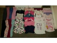 Bundle of girls clothes ages 3-4 years