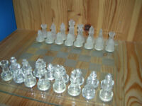 Limited Edition: Glass Chess Set