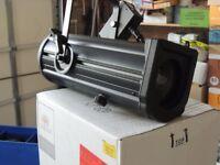 3 Philips Selecon PL1-RGBW Fresnel Spotlights
