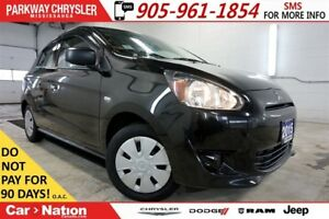 2015 Mitsubishi Mirage PRE-CONSTRUCTION SALE| ES PLUS| NOT A REN