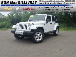 2015 Jeep WRANGLER UNLIMITED Sahara..Soft & Hard Top..Satellite