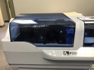 Zebra P330i - colour card printer