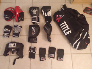 Boxing equipment sale
