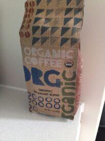 Motherearth Organic Breakfast blend coffee