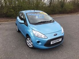 2009 FORD KA STYLE BLUE PETROL 63000 MILES IDEAL FIRST CAR/GREAT RUN AROUND MUST SEE£2995 OLDMELDRUM