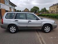 2003 SUBARU FORESTER 2.0 X ALL WEATHER MOT 18-07-2018 VERY GOOD HISTORY. 2 OWNERS. DRIVES SUPERBLY.