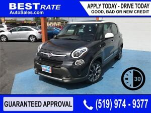 FIAT 500L - APPROVED IN 30 MINUTES! - ANY CREDIT LOANS