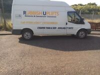 RUBBISH UPLIFTS DOMESTIC & COMMERCIAL CLEARANCES