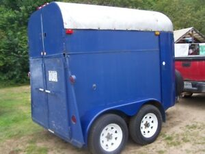 2-horse trailer for sale  -  $1500