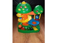 Vtech musical treehouse excellent condition and complete with coloured balls.