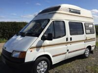ford transit autohomes 2 berth,camper.genuine 63k with full service history,12 months mot