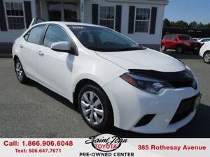 2014 Toyota Corolla LE $119.29 BIWEEKLY!!!