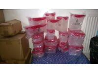 BRAND NEW SEALED ORIGINAL HIGH QUALITY STORAGE /LUNCH BOXES/CONTAINERS