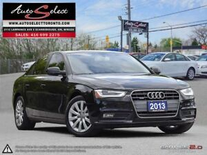 2013 Audi A4 Quattro AWD ONLY 62K! **LED LIGHTING PKG** CLEAN...