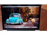 Macbook pro retina 13 almost new