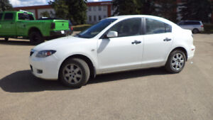 09 MAZDA 3 5SPD MANUAL - LOADED - A/C - ONLY 113,000KMS