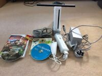 Nintendo Wii for sale + LOTR lego game