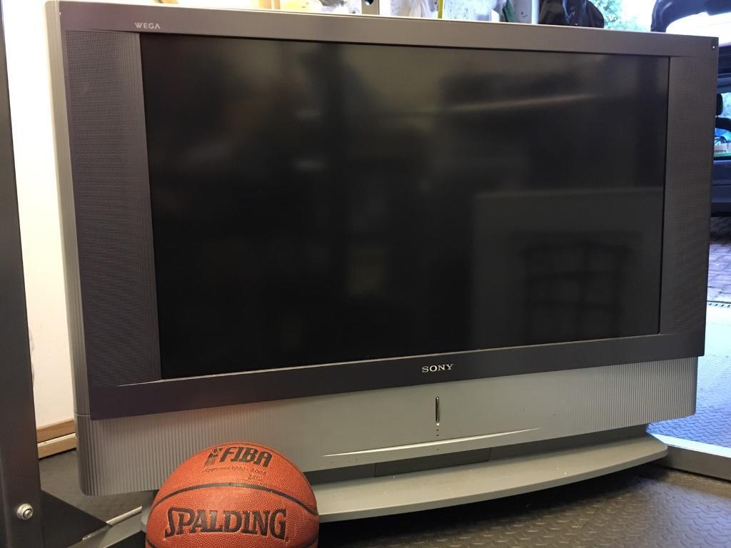 "41"" Sony Rear-Projection TV"