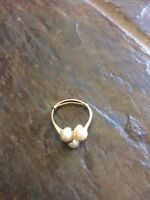 Found pearl ring