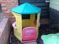 Little tikes outdoor playhouse