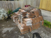 SALVAGED ROOFING TILES FOR SALE - CLAY PANTILES
