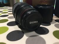 Sigma 70-300mm f4-5.6 II APO Macro Super Lens - Canon Fitting