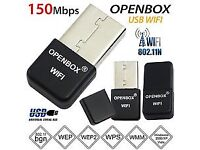 Openbox Skybox Wifi Dongle USB Adapter Antenna For F3 F3s F5 F5s V8 V8s V8se zgemma vu solo MAG 250