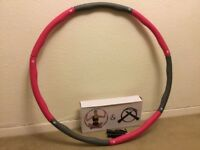 Exercise hula-hoops and jumping rope