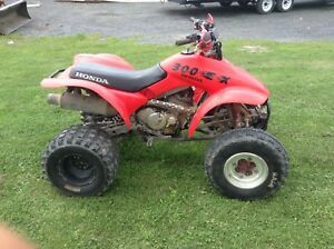 Honda 300ex with a clutch