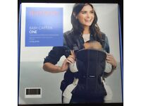 BabyBjorn One Baby Carrier in black, brand new and sealed, RRP £99.99