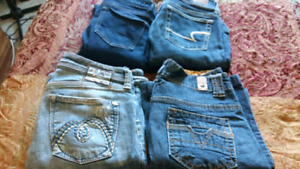 4 pairs of jeans. Size 3