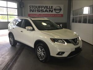 Nissan Rogue sl  nissan cpo rates from 0.9% 2014