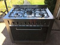 Range oven (gas hob electric oven)