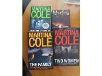 Martina Cole.- 4 books