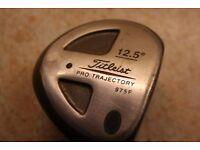 Titleist 12.5* Fairway Wood, Graphite Shaft & new Golf Pride Grip