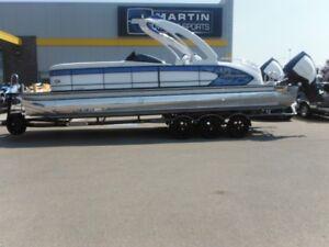 2017 Manitou 27 X-Plode SHP Dual Engine Pontoon Boat