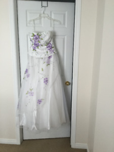 wore as wedding dress but could use for other occasions