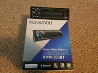 KENWOOD KMM303BT BLUETOOTH HEADUNIT