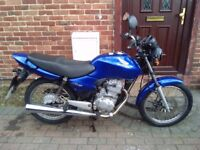 2006 Honda CG 125 motorcycle, new 1 year MOT, very good runner, learner legal, bargain, not cbf ybr,