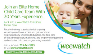 We have children waiting for child care!