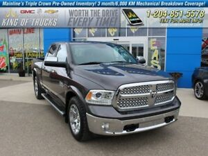2015 Ram 1500 Laramie | Eco Diesel | 4X4  - Bluetooth -  power s