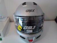 Grex G9 Flip helmet