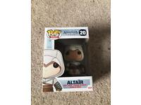 Assassins Creed Altair and Connor Pop Figures